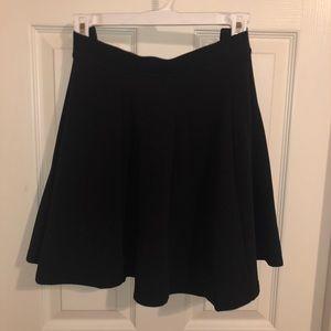 JESSICA SIMPSON Black Skater Skirt